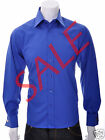 Guide London Long Sleeved Shirt | Small | Royal LS71259 Was £39.99 Now 1/2 PRICE