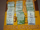 NOS  Watch Crystal - Various Sizes For Benrus  Watches