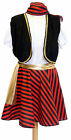 ladies PIRATE WENCH Fancy Dress ALL SIZES also PLUS
