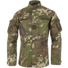 ARMY TACTICAL COMBAT MENS ACU SHIRT RIPSTOP COTTON VEGETATO WOODLAND CAMO S-XXL
