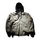 Elm Company Gunner Jacket Grey, Medium & Large