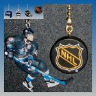 NHL VANCOUVER CANUCKS FIGURE & CHOICE OF GOALIE MASK OR PUCK CEILING FAN PULLS
