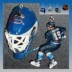 NHL VANCOUVER CANUCKS FIGURE & CHOICE OF GOALIE MASK OR PUCK CEILING FAN PULLS on eBay