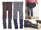 Set 2 Mocha Grey Leg Warmer Style Leggings 1T/2T/3T/4T