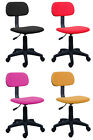 OFFICE DESK COMPUTER CHAIR ADJUST BLACK RED YELLOW PINK