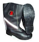 TUFFKING LEATHER FIRE FIGHTER BOOTS - NEW
