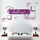 * WANDTATTOO / WANDSTICKER / CHILLOUT LOUNGE  12 42MB1