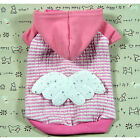 Dog clothing C145,Angel Wing costume Coat hoodie Shirts
