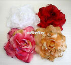 Bling Bridal Party Chic Flower Brooch Pin Hair Scrunchy