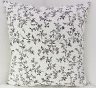 NEW FRENCH STYLE CUSHION COVERS IKEA BLACK WHITE FABRIC