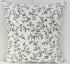 FRENCH STYLE CUSHION COVERS IKEA BLACK WHITE FABRIC SHABBY CHIC-STYLE
