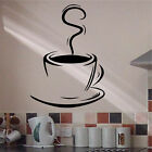 LARGE COFFEE TEA CUP Wall Art Catering Trailer Vinyl Sticker Transfer Cafe
