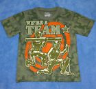New Boy Disney Toy Story We Are A Team Shirt 4/5 6/7 8