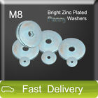 M8 Bright Zinc Thick 1.5 Repair Penny Washers FREE P&P