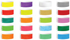 100 x Tyvek I.D Bracelets Safe & Waterproof & Colours