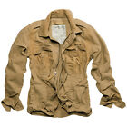 SURPLUS CLASSIC HERITAGE JACKET VINTAGE LOOK SUMMER MENS COAT WASHED COYOTE TAN