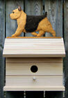 Bird House W/ Norwich Terrier on Peak. Home,Yard & Garden Dog Products & Gifts.