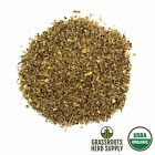 Certified Organic Mullein Leaf Verbascum Thapsus Dried Herb Choose 1-16 oz