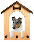 Adult Collie (Smooth) Dog House Leash Holder.In Home Wall Decor Products & Gifts