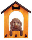 Adult Newfoundland Dog House Leash Holder. In Home Wall Decor Products & Gifts.