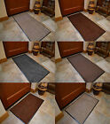 Extra Large Small Size Plain Rubber Pvc Kitchen Cotton Barrier Door Mats Rugs UK