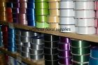"florist poly ribbon - 100 yards - 2"" wide - MASSIVE COLOUR SELECTION STOCKED"