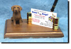 Chesapeake Bay Retriever Dog Card Holder or Desk Set. Home Office Den Products