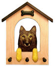Belgian Tervuran Dog House Leash Holder.In Home Wall Decor Wood Products & Gifts