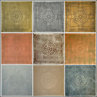 Tin-Look Ceiling Tiles 20x20 R30 Lima Different Colors