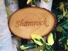 House or  Garden Sign - Engraved Natural wood slice