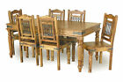 Jali 180cm Dining Table With 6 Chairs/ 8 Chair Option Available/ Real Sheesham