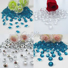Hot New 200pcs Diamond Confetti 8.0mm 2CT Wedding Party Table Decoration 2 Color