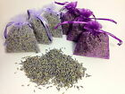 *Very Fragrant* Dried Organic Lavender Flower Bud Filled Sachets Potpourri Bags