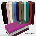 FITTED VALANCE SHEETS PERCALE SINGLE DOUBLE KING   *TOP QUALITY*