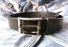 SIMPLY BLACK DRESS MENS BELT 100% GENUINE LEATHER Size Available