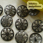 Vintage Umbrella-Shape 20mm  Metal Buttons Sewing Collectable Craft MB017