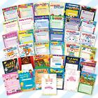 20x Childrens Kids Birthday Party Invitations Invites Pack Pads Blank Boys Girls