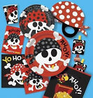 KIDS PARTY THEMED PIRATE FUN TABLEWARE CUPS PLATES NAPKINS GAME ETC.