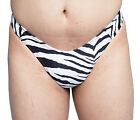 Gaff  Panty For Crossdressing & Transvestite Men ZEBRA