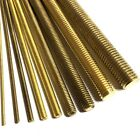 1m Long Brass Threaded Bar Rod Studding - M2 M3 M4 M5 M6 M8 M10 - 1000mm