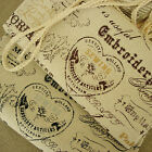 2 Colours-VintageChic Victorian Maison de COSMO Old Fashion Cotton Linen Fabric