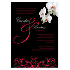 Personalized Wedding Reception Stationery CLASSIC ORCHID Invitation Cards