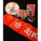 18th Or 21st Birthday Party Packs - BADGE, SASH, CONFETTI, SHOT GLASS - NEW