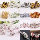 Wholesale Bulk Colorful Austrian Crystal Spacer European Charm Bead Fit Bracelet