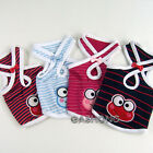 Dog&Cat Clothes Frog Embroidered Cross Halter Shirts_A701
