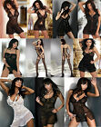 NEW LIVCO CORSETTI BABYDOLL Satin & Lace CHEMISE LINGERIE BODYSTOCKING SLEEPWEAR