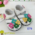 Leather Toddler Baby Girl Mary Janes Sandal shoes(E79)size6-24M
