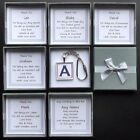 BEST MAN USHER PAGE BOY WITNESS INITIAL KEY RING PERSONALISED BOX GIFT THANK YOU