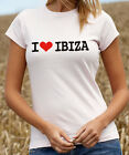 I Love Ibiza T-Shirt  - Holiday, Hen, Stag, Club Tee Shirt - All Sizes (D008)