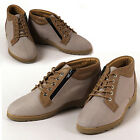 New Gentle Mens Sneakers Beige Comfort Casual Lace Up Ankle Boots Shoes